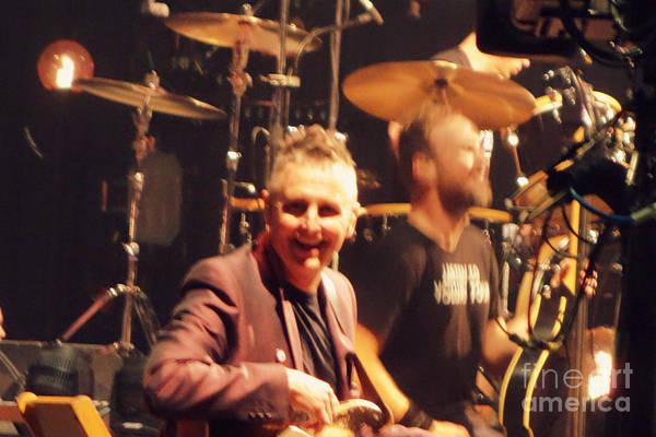 Pearl Jam Photograph - Mike Mccready by Linda De La Rosa