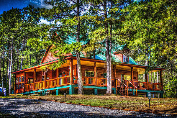 Photograph - Mike's Cabin by Barry Jones