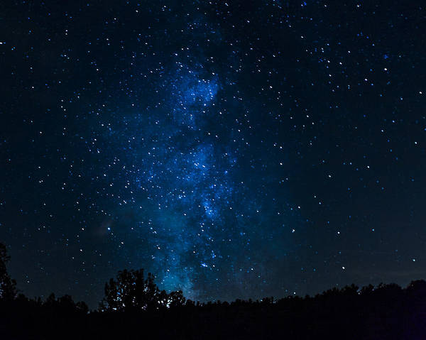 Photograph - Milky Way Ohio Recereation Lands by Jack R Perry