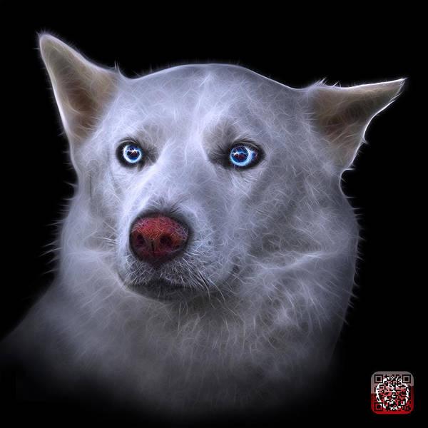 Mila - Siberian Husky - 2103 - Bb Art Print