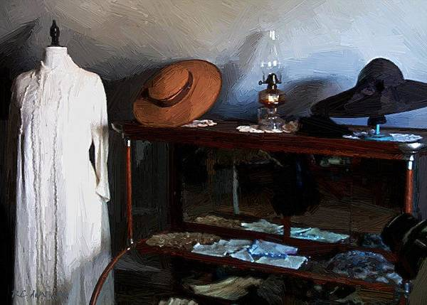 Painting - Milady's Finery by RC DeWinter
