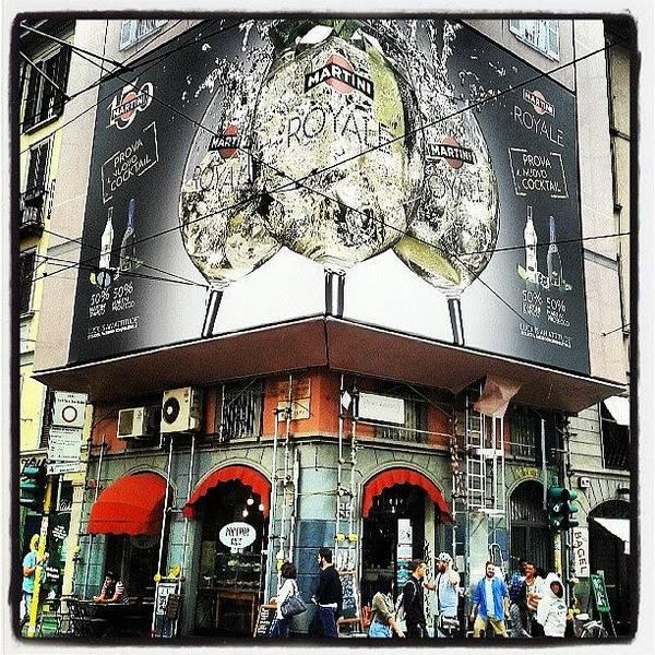 Martini Wall Art - Photograph - #milan #bar #italy #milano #martini by Andrea Zampedroni