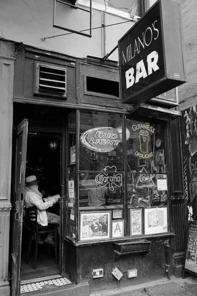 Photograph - Milano's Bar 3 by Andrew Fare