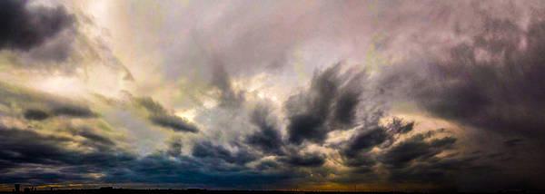 Photograph - Mild Nebraska Storm Cells by NebraskaSC
