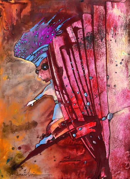 Painting - Mildew The Bookworm by Miki De Goodaboom