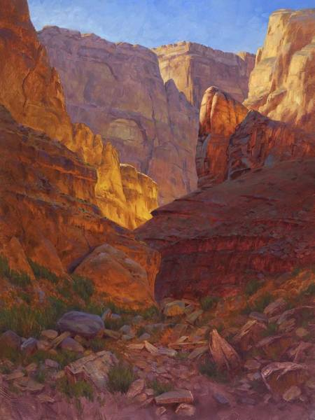Wall Art - Painting - Mile 202 Canyon by Cody DeLong