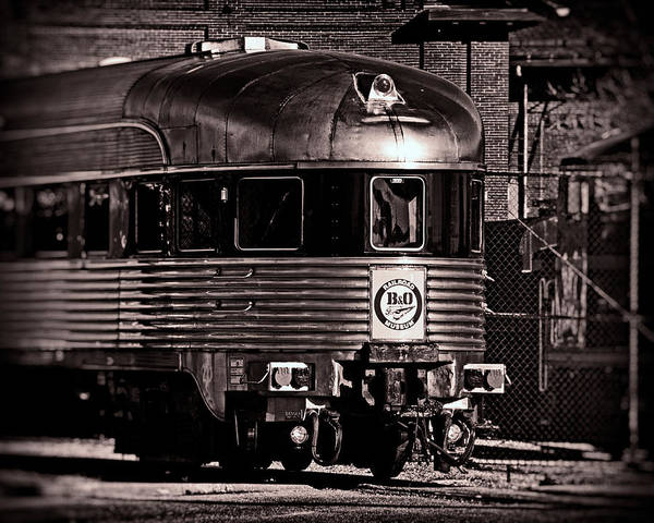 Photograph - Mile One Express Black And White by Bill Swartwout Photography