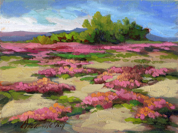 La Quinta Wall Art - Painting - Miles Avenue Years Ago by Diane McClary
