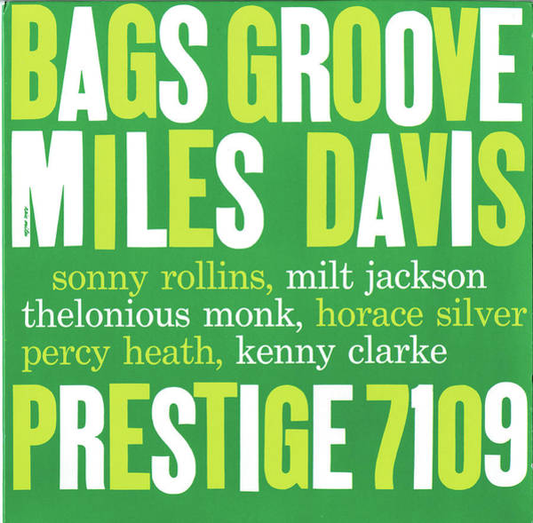 Wall Art - Digital Art - Miles Davis -  Bags' Groove by Concord Music Group