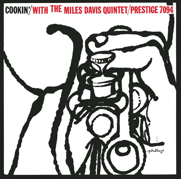 Wall Art - Digital Art - Miles Davis Quintet -  Cookin' With The Miles Davis Quintet by Concord Music Group
