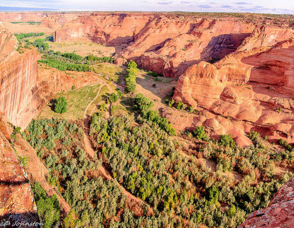 Spider Rock Photograph - Miles To Go In Canyon De Chelly by Bob and Nadine Johnston