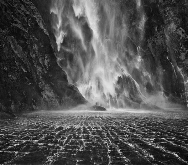 Wall Art - Photograph - Milford Sound Waterfalls by Yan Zhang
