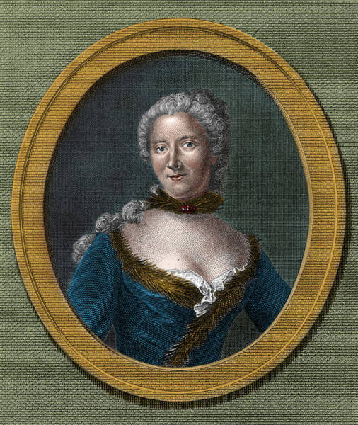Photograph - Emilie Du Chatelet, French Mathematician by Science Source