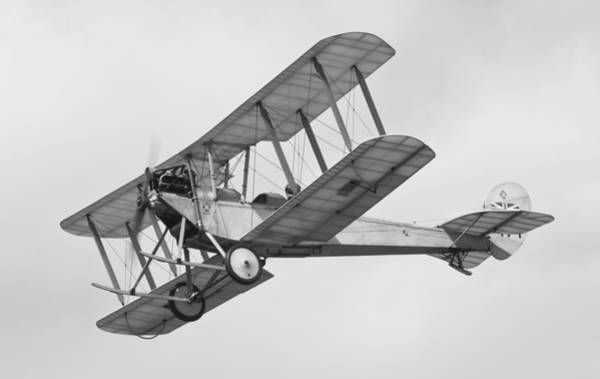 Bleriot Photograph - Military Aeroplane Be2c by Maj Seda