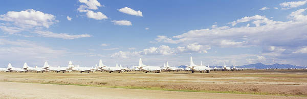 Military Air Base Photograph - Military Airplanes At Davismonthan Air by Panoramic Images