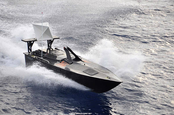 Hammerhead Photograph - Military Boat Drone by U.s. Navy