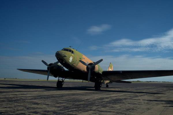 Photograph - Military C47 Spooky Airplane by Tim McCullough