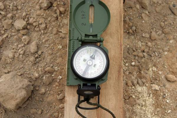 Iraqi Photograph - Military Compass by Us Air Force/science Photo Library