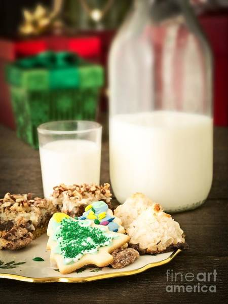 Photograph - Milk And Cookies by Edward Fielding
