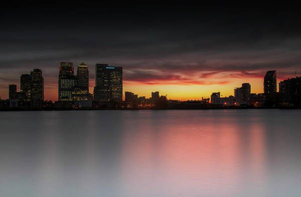 Canary Wharf Photograph - Milk Pond by Jaymarks Images