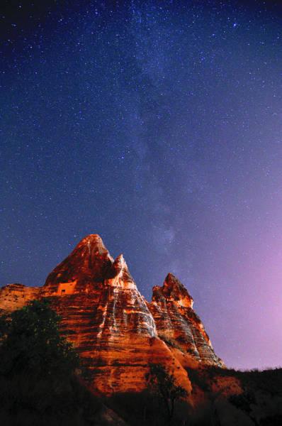 Cappadocia Photograph - Milky Way Above Cappadocia Fairy by Ben Leshchinsky