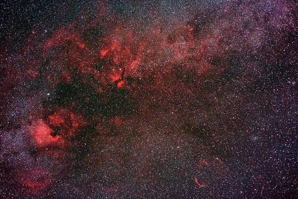 Milky Way And Cygnus Art Print by Babak Tafreshi