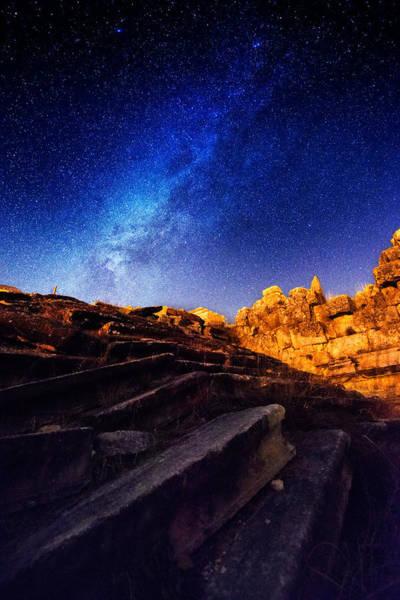 Photograph - Milky Way At Aizanoi-2 by Okan YILMAZ