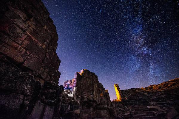 Photograph - Milky Way At Aizanoi by Okan YILMAZ