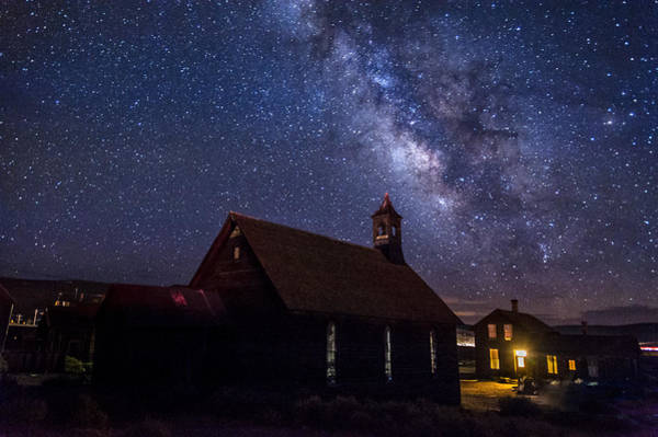 California Adventure Photograph - Milky Way At Bodie by Cat Connor