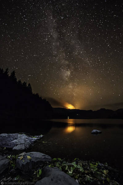 Photograph - Milky Way At Crafnant by Beverly Cash