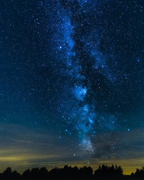 Photograph - Milky Way Cherry Springs by Jack R Perry