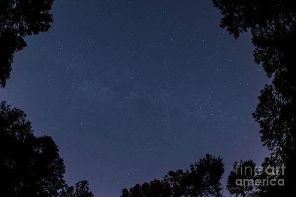Fisheye Photograph - Milky Way Fisheye by Michael Ver Sprill