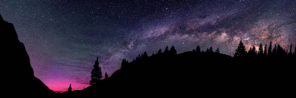Milky Way In Grizzly Valley Art Print by Photo By Matt Payne Of Durango, Colorado