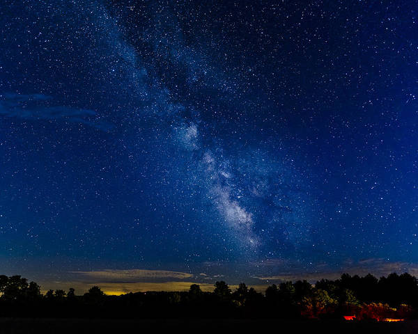 Photograph - Milky Way by Jack R Perry