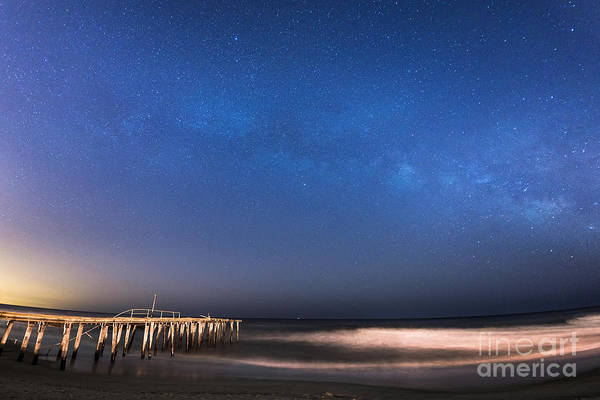 Michael Photograph - Milky Way Jersey Shore by Michael Ver Sprill