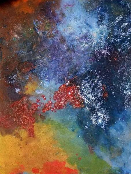 Deep Space Mixed Media - Milky Way by Nicole Henne