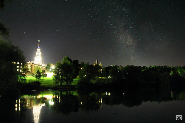 Photograph - Milky Way Over Colby by John Meader