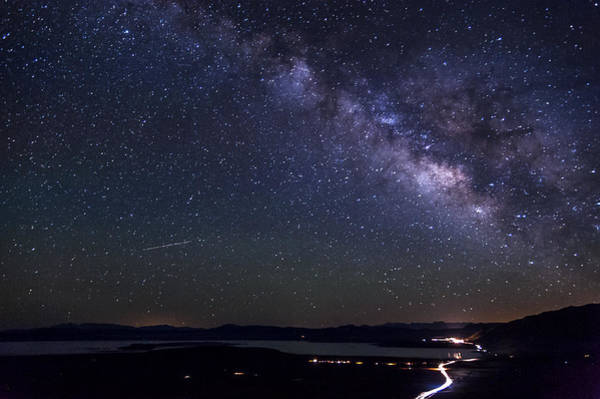 Photograph - Milky Way Over Mono Lake by Cat Connor
