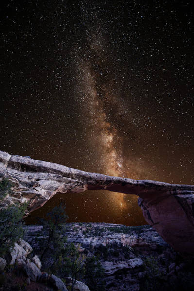 Milky Way Wall Art - Photograph - Milky Way Over Owachomo by Keith Marsh