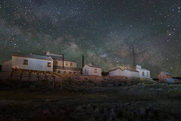 Wall Art - Photograph - Milky Way Over Standard Mill by Jeff Sullivan