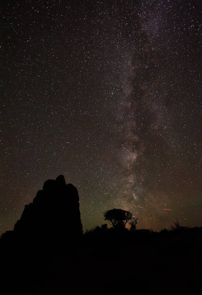 Photograph - Milky Way Over Utah by Gregory Ballos