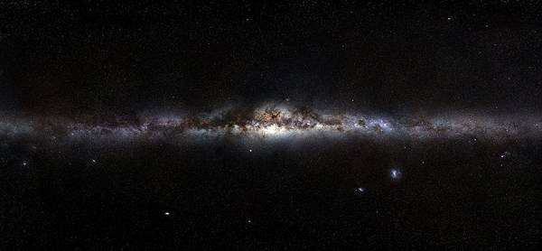 Wall Art - Photograph - Milky Way Panorama by European Southern Observatory/science Photo Library