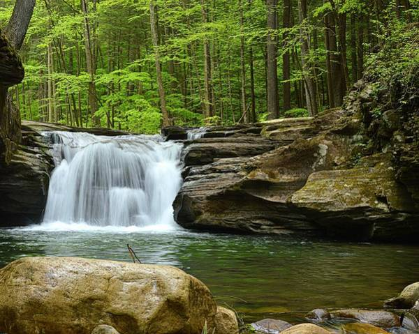 Sullivan County Photograph - Mill Creek Falls #1 by Joel E Blyler