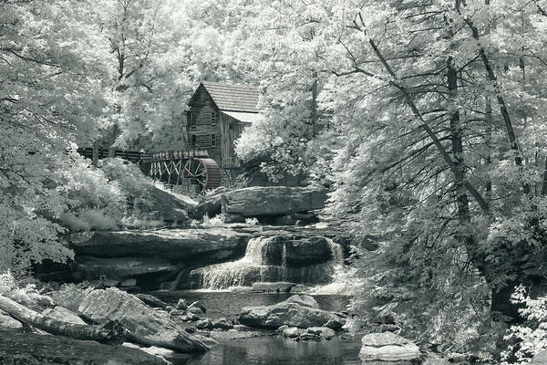 Photograph - Mill In Infrared by Mary Almond