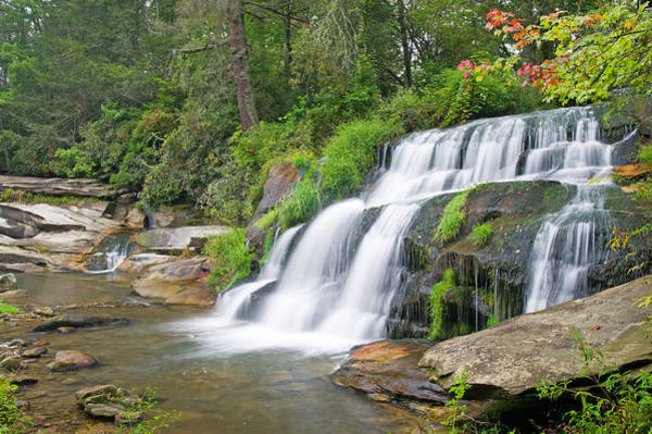 Mill Shoals Falls Wall Art - Photograph - Mill Shoals Falls    North Carolina by Willie Harper
