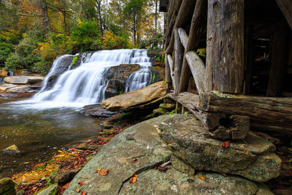 Mill Shoals Falls Wall Art - Photograph - Mill Shoals Falls  by Walt  Baker