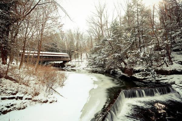Wall Art - Photograph - Millcreek Park Winter by Jimmy Taaffe