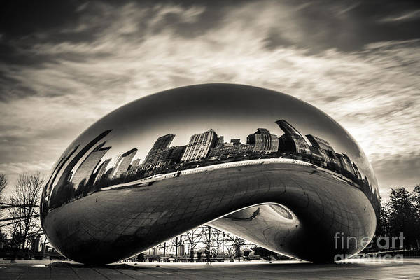 City Scape Photograph - Millenium Bean  by Andrew Slater