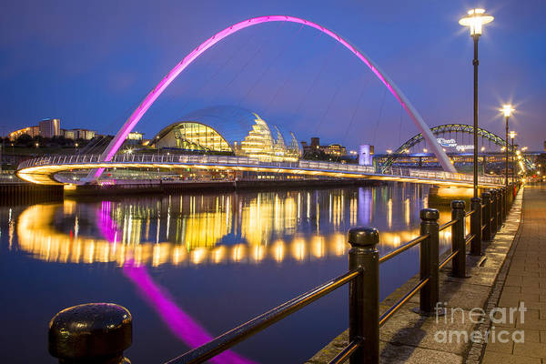 Millenium Photograph - Millennium Bridge - Gateshead by Brian Jannsen