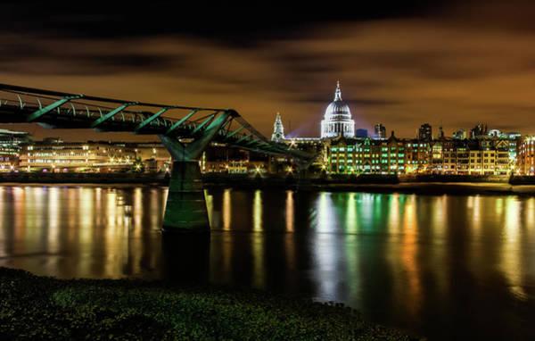 South Bank Photograph - Millennium Bridge by Andrew Turner